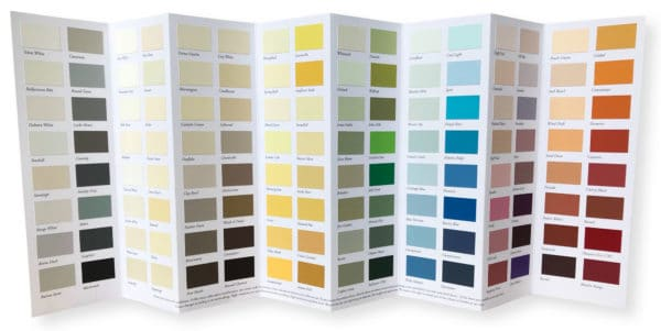 Image of Colour Collection with 128 colour chips