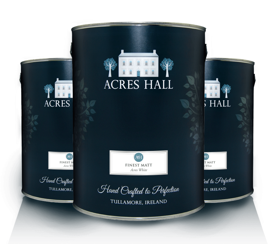 Three Acres Hall Paint Cans