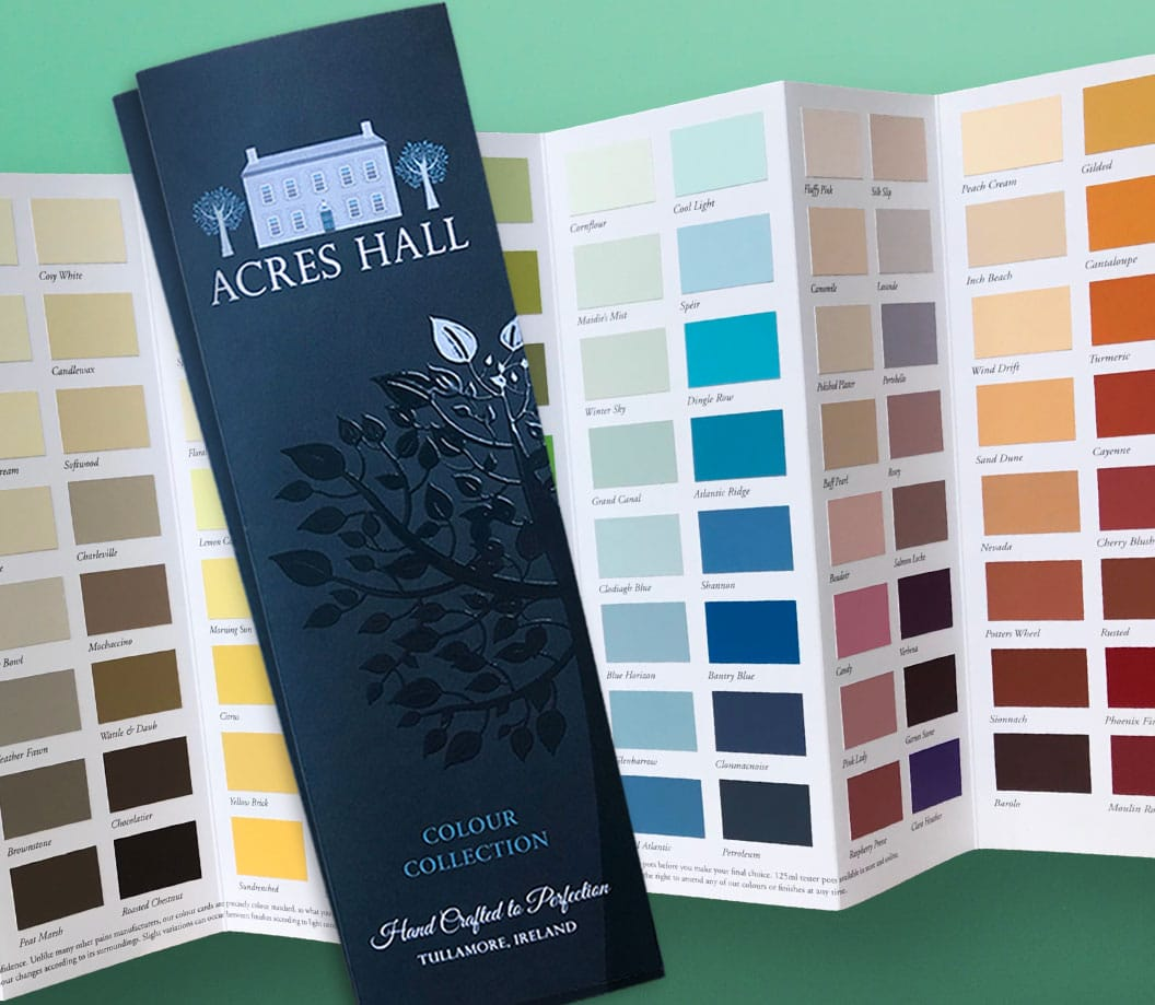 Image of Acres Hall Complimentary Colour Collection Card