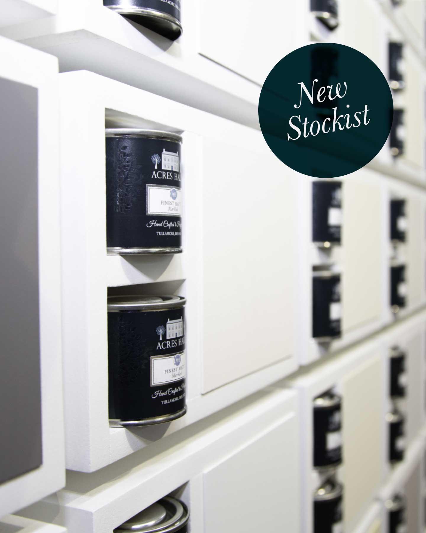 New Stockist - Acres Hall